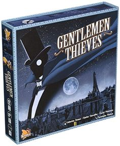 Gentlemen Thieves Board Game Asmodee