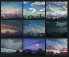 clouds study by Sylar113 on DeviantArt