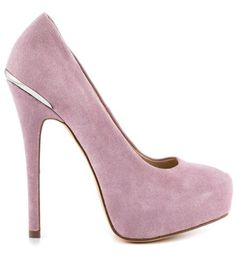 Shoemint's Purple Carrie - Lavender Suede