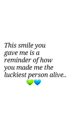 Soulmate and Love Quotes : QUOTATION – Image : Quotes Of the day – Description Thank u danielle for making me the luckiest man in the world. Everytime I smile it's because of u and how u have made my soul happy. I love u danielle Sharing is Power . Happy Quotes, Best Quotes, Love Quotes, Happiness Quotes, Crush Quotes, Give It To Me, Love You, Finding Your Soulmate, Lucky Man