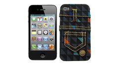Capa iPhone JEANS XADREZ - BeeK Geek's Stuff R$ 59,90 www.beek.com.br