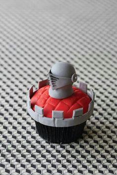 Knight cupcake