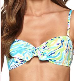Lilly Pulitzer Fisher Bikini Top- removable straps.. perfect bandeau too!