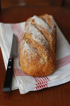 Pão de Farinha dÁgua                                                                                                                                                                                 Mais No Salt Recipes, My Recipes, Bread Recipes, Cooking Recipes, Favorite Recipes, Healthy Recipes, Breakfast And Brunch, Confort Food, Rustic Bread