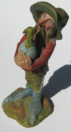 clarecraft george and his dragon prototype , sculpted and painted by Joe Pattison of Clarecraft
