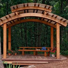 The pergola kits are the easiest and quickest way to build a garden pergola. There are lots of do it yourself pergola kits available to you so that anyone could easily put them together to construct a new structure at their backyard. Curved Pergola, Building A Pergola, Metal Pergola, Cheap Pergola, Pergola Lighting, Pergola With Roof, Wooden Pergola, Covered Pergola, Gardening