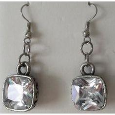 Square Chunky Dangle Earrings for Designer Jewellery, Jewelry Design, Dangle Earrings, Dangles, Chandelier Earrings