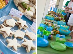 Food Ideas for Under the Sea Party Theme