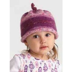 Ella Rae Amity Print Beanie Free Downloadble Pattern #free #knitting #pattern I really need to try again to learn knitting.
