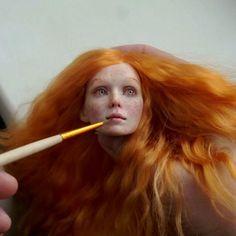 Anastasiya and Sergey Lutsenko - Realistic dolls