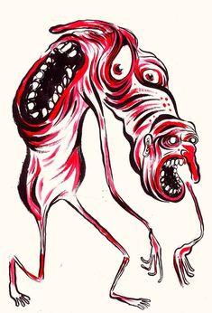 #COMIC #ILUSTRACION #PUBLICACION #CROWDFUNDING - Dibujo hecho por Hurricane para APUCKALYPSE, una colección de pesadillas apocalípticas dibujadas por 115 artistas de fama internacional: dibujantes underground, escritores satíricos, pintores, xilografistas, poetas, collagers... Es el último número de la revista PUCK! demon demonio drawing +info https://www.facebook.com/puckmagazine Crowdfunding verkami http://www.verkami.com/projects/7293-apuckalypse-the-greatest-editorial-tragedy-ever