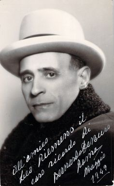 De Muro, Bernardo - Signed Photo