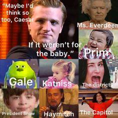 Hunger Games Crafts, Hunger Games Jokes, Divergent Hunger Games, Hunger Games Fandom, Hunger Games Trilogy, Book Tv, Book Nerd, Tribute Von Panem, Book Memes