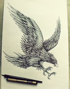 Incredibly Intricate Ink Illustrations by Alex Konahin