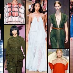 Trend Report: What You'll Be Wearing Next Spring