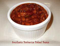 Melissas Southern Style Kitchen: Southern Barbecue Baked Beans