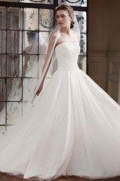 Американские свадебные платья с пышной юбкой