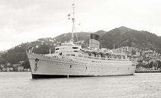 Caronia - ( imo nr. 5064908) Ship Tracker, Battleship, The Past, Ocean, Boat, Cruise Ships, Yachts, Travel, Interiors