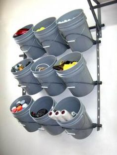 Nice Storage Idea For A Frequently Used Section In The Garage. Would Be  Great For Sports Equipment. Call Today Or Stop By For A Tour Of Our  Facility!