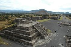 Teotihuacan, Mexico (courtesy of @Ellyxxy )