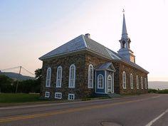 Eglise Saint-Jean-Baptiste, L'Anse St-Jean 1890, Quebec