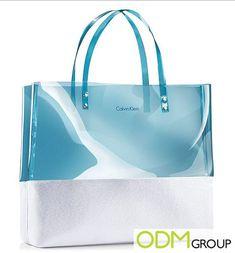 Calvin Klein GWP: Tote Bag Jean Purses, Purses And Bags, Clear Backpacks, Clear Handbags, Bags Travel, Promotional Bags, Transparent Bag, Clear Bags, Denim Bag
