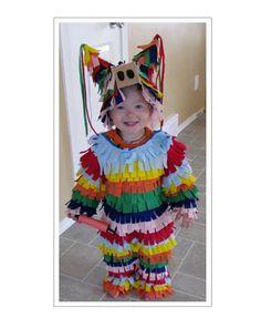 easy DIY piñata children kids baby infant costume for Halloween 30949dcaec3b
