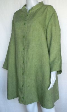 Flax Top 1g 1x 2G 2X Sunshine Vintage Shirt Tunic 5 Colors | eBay