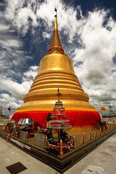 Bangkok - Wat Saket and Golden Mount.