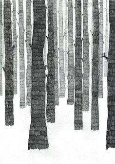 Skog by Frida Stenmark: