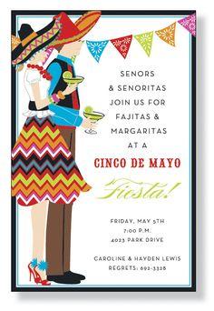 Tequila and Margaritas Fiesta Invitation Mexican Party Mexican Fiesta Mexico Mexican Feast South American Latin America Birthday Drinks