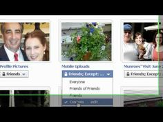 How to secure your Facebook Photos from strangers and specific friends