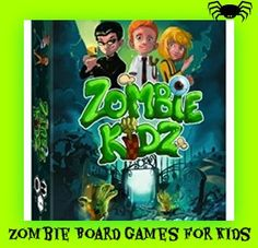 I don't do well with dismemberment and blood, so I put together a list of Zombie Board Games for Kids that have a Zombie Theme, but no gore...