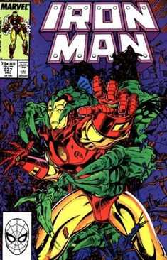 Cool Comic Covers is a weekly (almost) look back at some of the most interesting, intriguing, and engaging artwork in pop culture. This week: Iron Man! It's Avengers week here at Strangers an… Iron Man Comic Books, Comic Books Art, Comic Art, Book Art, Comic Book Characters, Comic Character, Tony Stark, Real Iron Man, Iron Man Armor