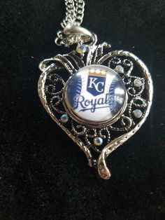 Snap Necklace - Royals Heart