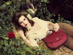The Elettra Large Crossbody in Red