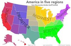 Maps And Charts That Will Surprise You Geography Ap Human - Us map according to foreigners