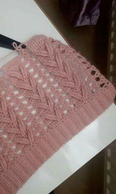 Stepper beautiful crochet poin