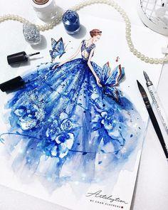 New Fashion Art Illustration Dresses Beautiful Ideas Fashion Design Sketchbook, Fashion Design Drawings, Fashion Sketches, Fashion Drawing Dresses, Fashion Illustration Dresses, Fashion Illustrations, Arte Fashion, Couture Fashion, Fashion Models
