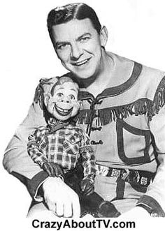 Howdy Doody was a kids TV show about Buffalo Bob and his friends..