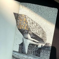 Zaha Hadid, Conceptual Architecture, Building Sketch, House Sketch, Amazing Drawings, Antwerp, Sketches, Photo And Video, Instagram