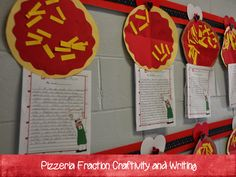 2nd Grade Shenanigans: That's Amore Pizzeria {Cross-Curricular Unit}