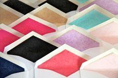 Tissue paper lining