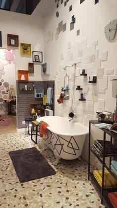"""Salle de bains Gennevilliers - Déclic """" Retro Moderne"""" Mars/Avril 2016"""