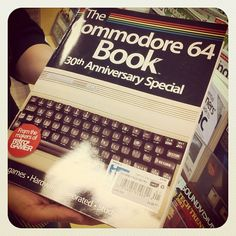 This will be the perfect fathers day gift for someone I know - he probably still has a Commodore 64 30th Anniversary, Bookcases, Personal Finance, Fathers Day Gifts, Indigo, Nostalgia, Husband, Technology, History