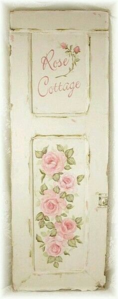 Shabby Vintage Archives - Cute Home Designs Cottage Chic, Romantic Cottage, Romantic Roses, Rose Cottage, Cottage Door, Romantic Getaway, Shabby Vintage, Vintage Roses, Shabby Chic Homes