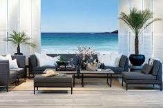 Relatert bilde Outdoor Sofa, Outdoor Spaces, Outdoor Furniture Sets, Outdoor Decor, Coastal Living, Living Room Designs, Patio, Pictures, House