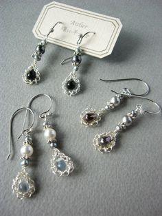 wire crochet earring http://yoyo-sha.blog.ocn.ne.jp/blog/2013/02/
