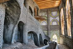 Earthship architecture is both beautiful and practical.