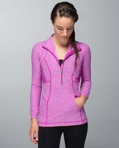 run: pace-setter half zip   women's tops   lululemon athletica
